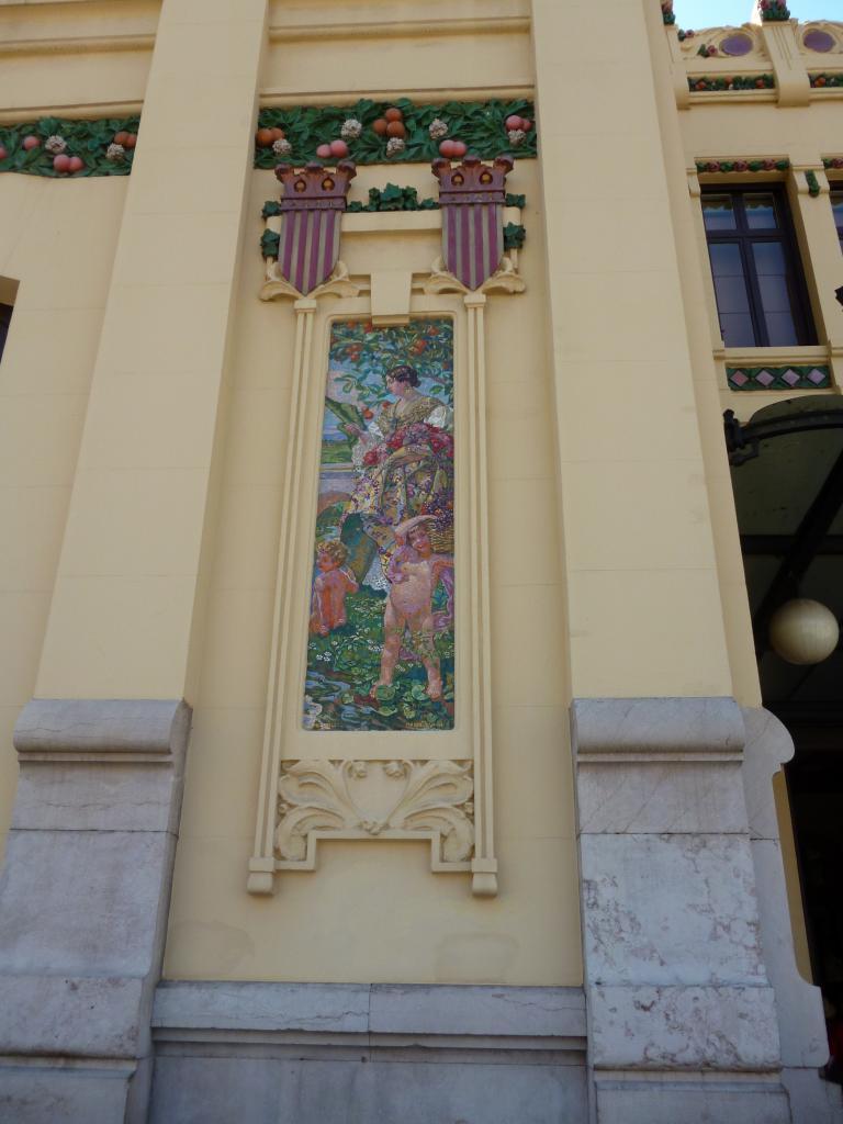 Céramique Gare de Valencia centre historique