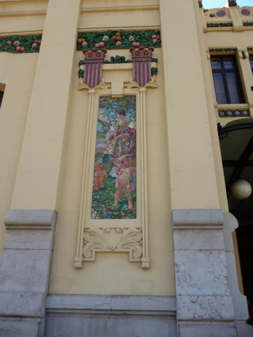 Banhof von Valencia Keramisch