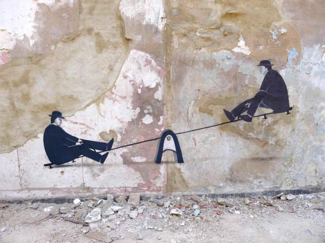 Escif street art Valencia 2012