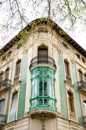 Style art nouveau à Valencia