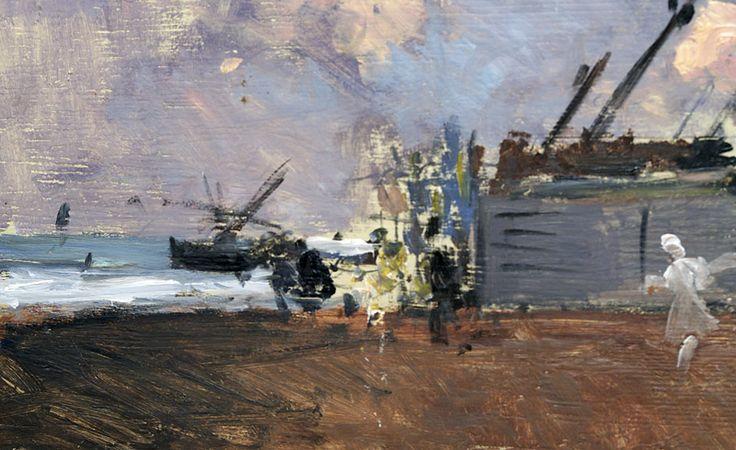 Ignacio Pinazo Camarlensch, le port de Valencia