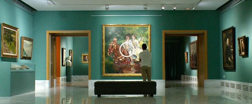 Museo Bellas Artes Joaquin Sorolla la grupa