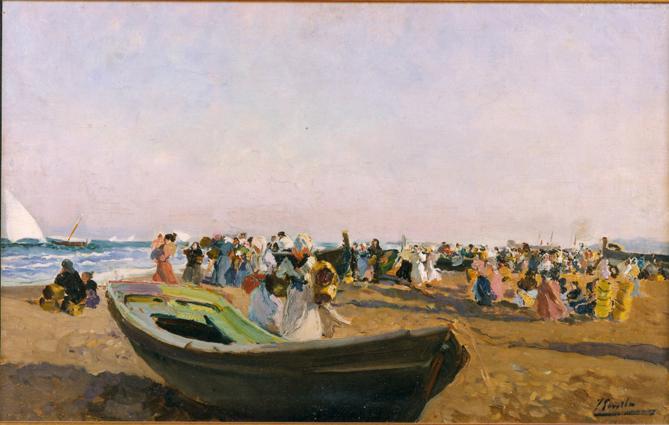 Museo Bellas Artes Joaquin Sorolla playa de valencia