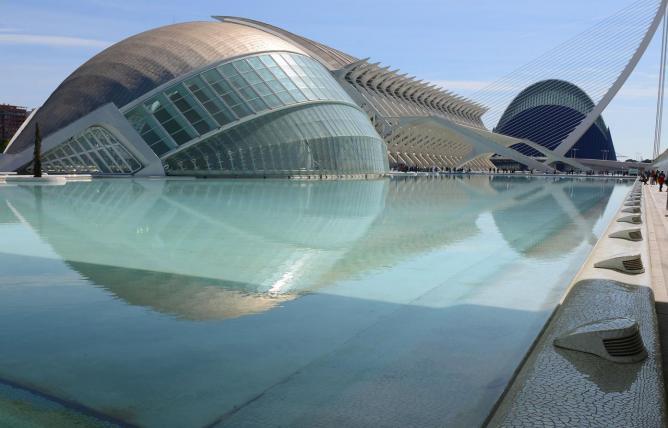 Valencia Ciudad de las Artes e las Sciencias