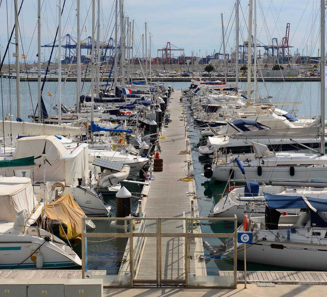 Le port de Valencia
