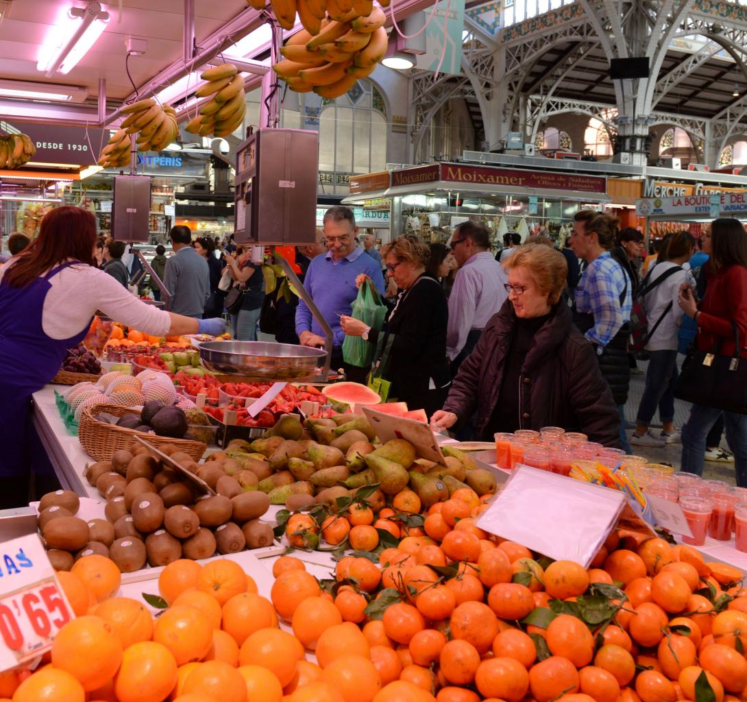 Valencia Mercado Central photo Bob Driessen