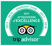 Trip advisor attestation d excellence star 2019 2