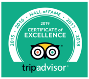 Trip advisor certificate of excellence star 2020