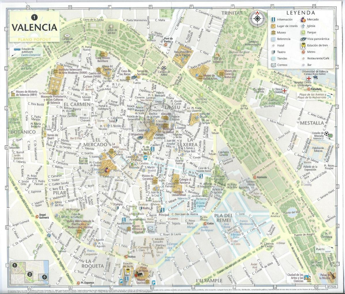 Our B B is located in the very heart of the Valencia historical