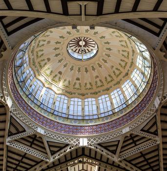Mercado Central De koepel