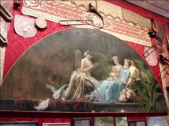 Valencia Museo Benlliure Painter Studio