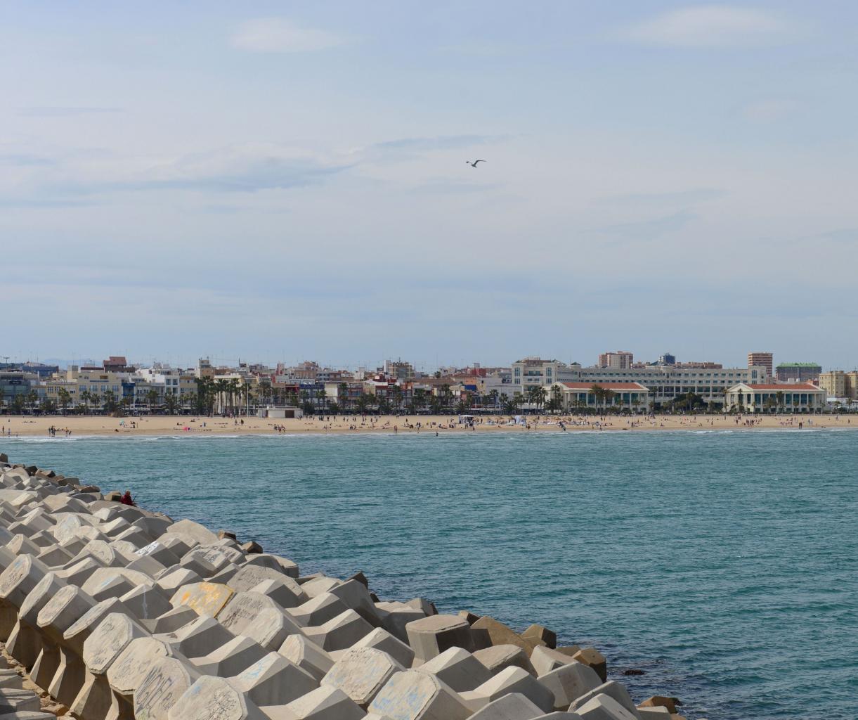 Valencia playa de Malvarossa photo Bob Driessen